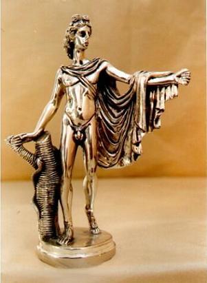 Estatuilla de latón