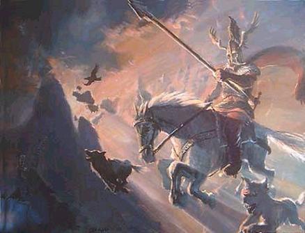 Odin a la carga