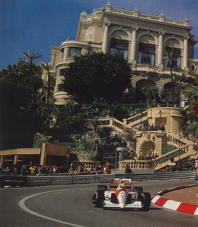 Senna en Monaco