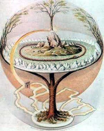Yggdrasil, el sagrado fresno cósmico
