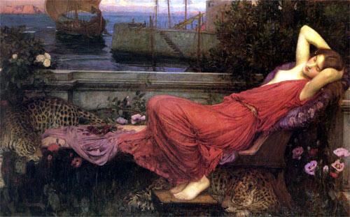 Ariadna abandonada por Teseo
