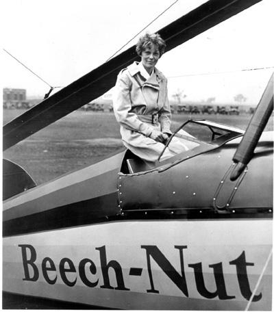 Amelia Earhart, una mujer de leyenda