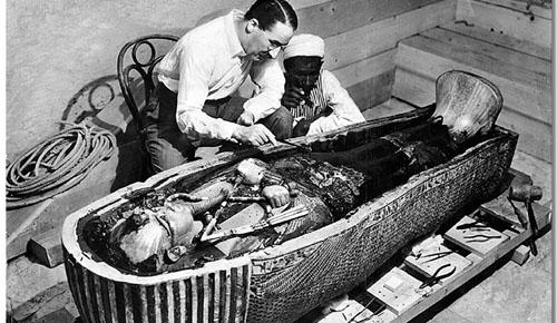 La tumba de Tutankamon: comienza la maldicion