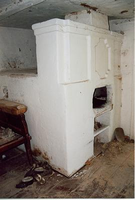 Gran cocina-chimenea-estufa de la izba