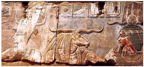 Divinidades egipcias del Nilo y del desierto