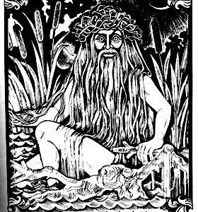 Vodyanoi, el amenazador espiritu del agua