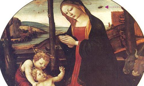 Cuadro de la Virgen y el Niño