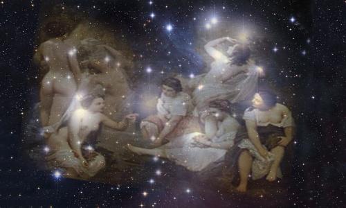 El mito de las siete Pleyades