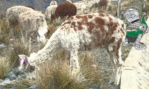 El Coquena, el pastor andino