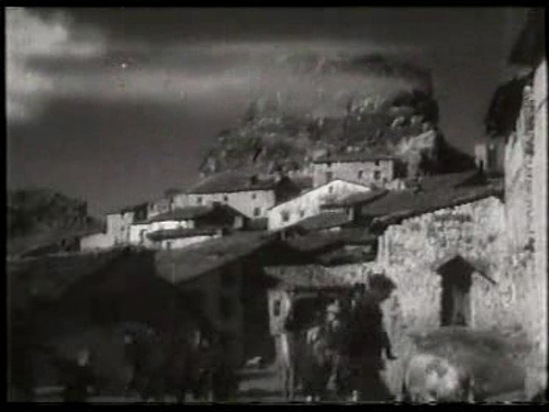 Castillo de Huélamo en los años 40