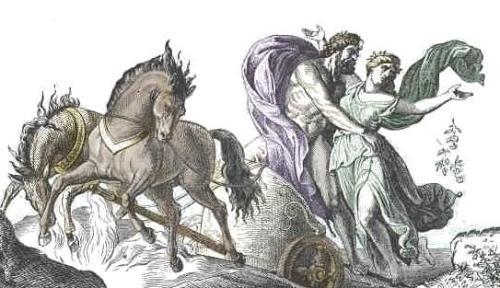Plutón y Proserpina