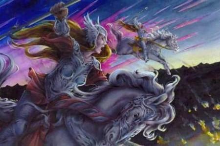 Valquirias, diosas menores de la mitología nórdica