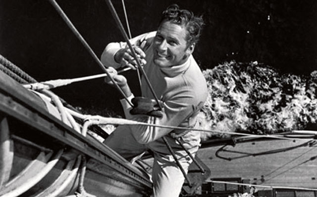 Errol Flynn a bordo del Zaca