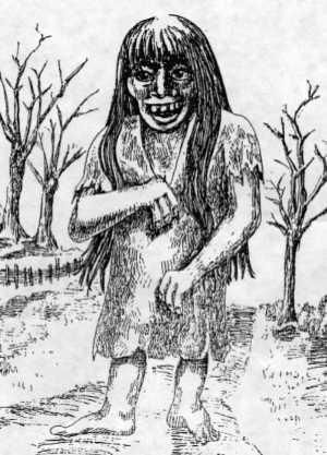 La Fiura, criatura maligna de las leyendas chilenas