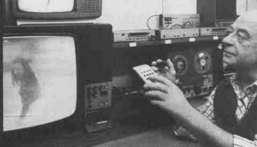 Klaus Schrieber y su grabación de psicoimágenes