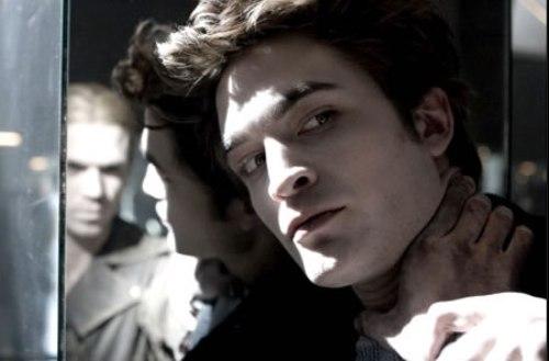 crepusculo con Robert Pattinson
