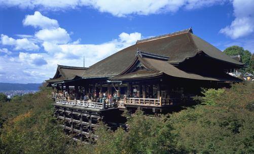 La leyenda del Templo de Kiyomizu-dera en Kyoto