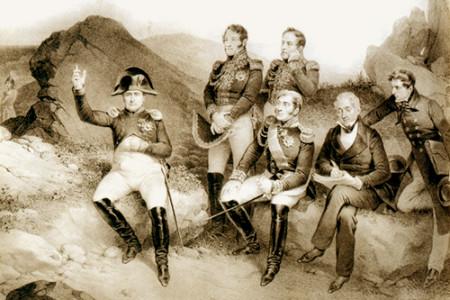 La muerte de Napoleón Bonaparte