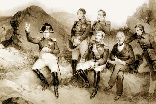 Napoleon en Santa Elena