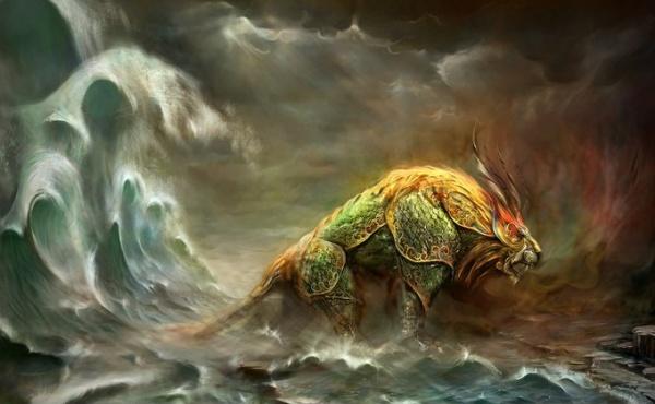 La leyenda de Nian, monstruo chino del Año Nuevo