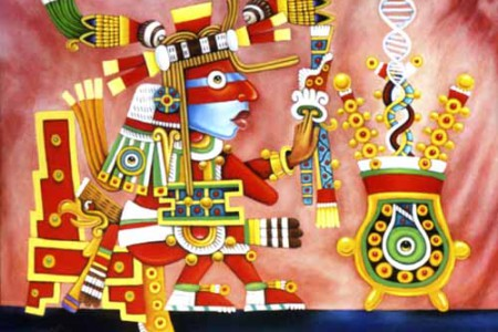 Ometeotl, el dios que se hizo a sí mismo