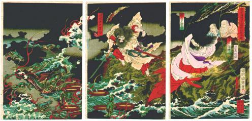 La leyenda del dragón Yamaya no Orochi