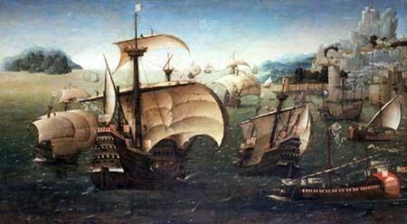Barcos en el mar