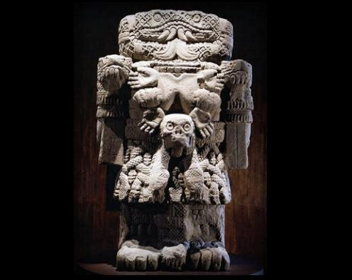 Coatlicue, la Diosa Madre de los aztecas