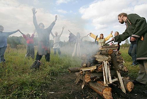 Dioses eslavos, el panteón de Vladimiro