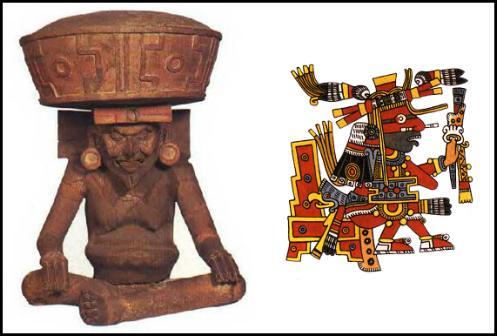 Huehuetéotl-Xiuhtecuhtli, el viejo dios del fuego