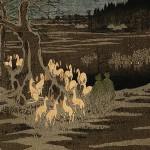 Kitsune, el zorro mistico japones