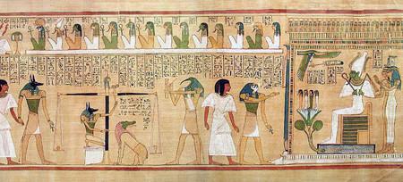 El Libro de los Muertos egipcio