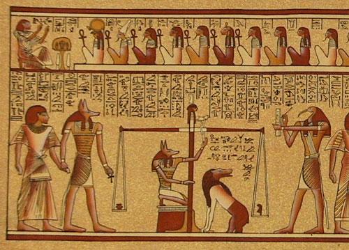 Pergamino egipcio