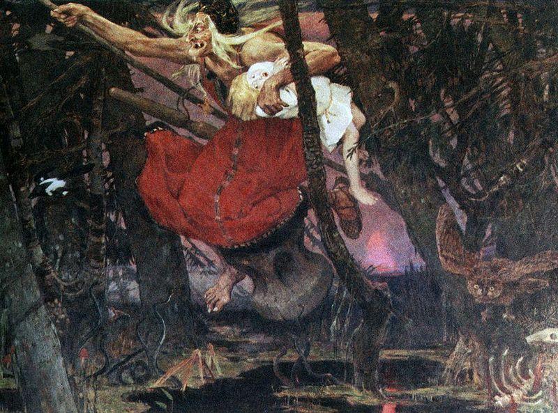 Baba Yaga, la bruja de los cuentos rusos