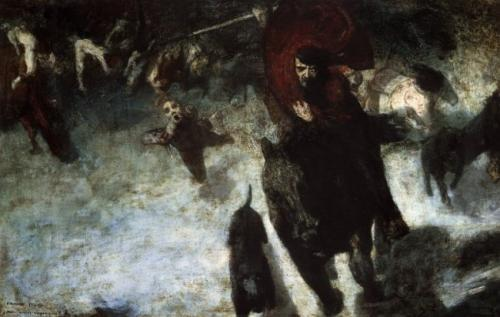 La leyenda de la cacería del rey Valdemar