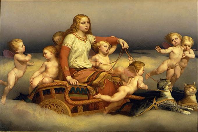 Freyja, la diosa de la fertilidad