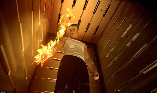 Combustión espontánea, el cuerpo en llamas