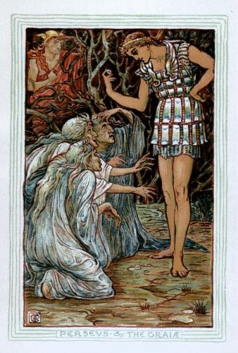 Perseo y las tres Grayas