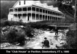 Foto antigua de Glastenbury Town