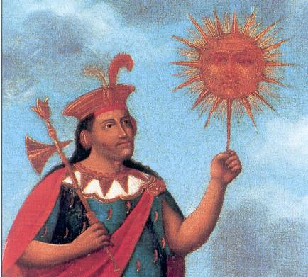 Inti, el dios del Sol