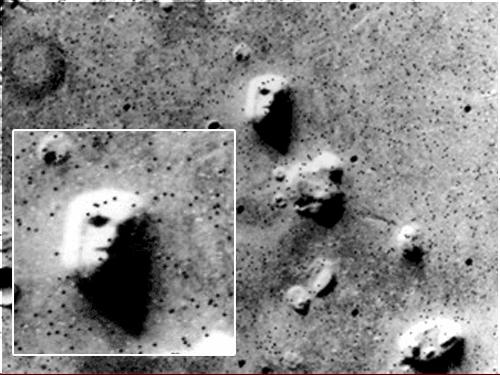 El misterio de las caras de Marte