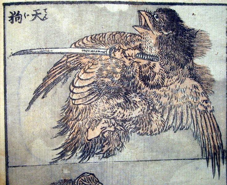 Historias sobre los Tengu, duendes japoneses