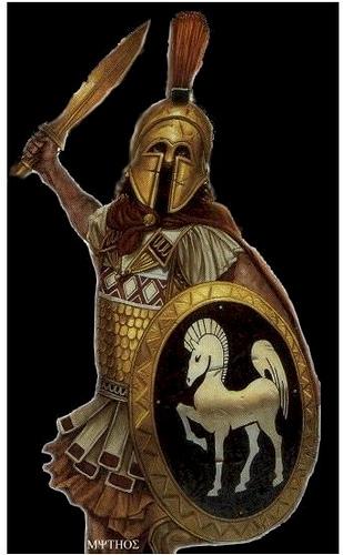 El Mito De Ares Dios De La Guerra