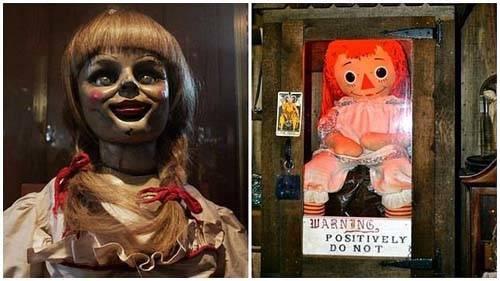Anabelle y la muñeca real