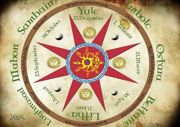 Año celta - fiesta de Beltane