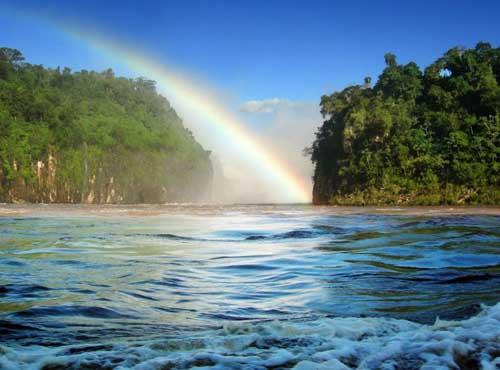 Arco Iris en Brasil