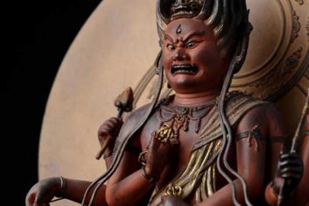 Aizen Myo, deidad budista de la Sabiduría