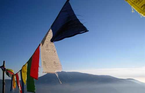 Banderas Tibetanas Budistas