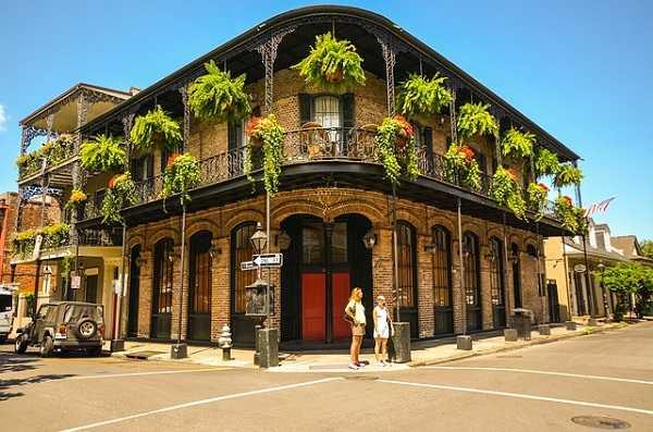 Barrio francés en Nueva Orleans