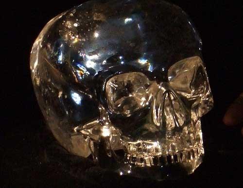 Calavera de cristal